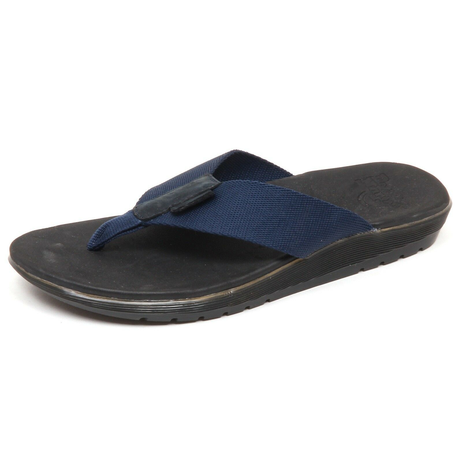 D9794 (without box) infradito uomo blu DR. MARTENS MANA flip flop shoe man