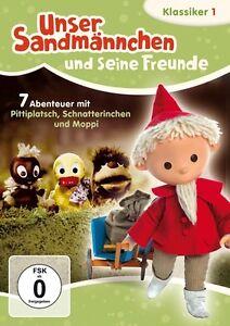 Sandman-Pittiplatsch-Schnatterinchen-Moppi-Sandman-Clasicos-DVD-1-NUEVO