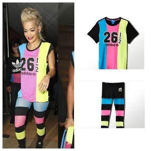 Image is loading Adidas-Originals-Rita-Ora-Fashion-Boyfriend-T-Shirt-