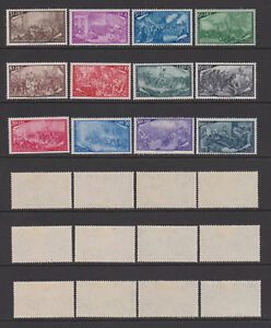 ITALY-1948-Risorgimento-Mint-Sc-495-506-Sa-580-591