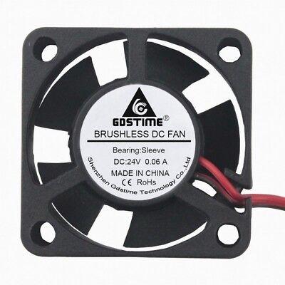 Wholesale 10PCS 24V 2Pin Ph2.0 30mm 3cm 30x30x10mm Brushless Cooling Cooler Fan