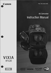 canon hfr300 manual