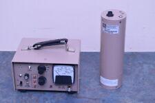 Ludlum Model 177 Survey Meter Alarm Ratemeter And Model 45 9 Probe