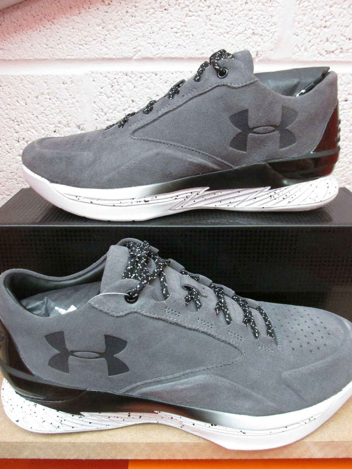 Under Armour Ua Curry 1 Luxe Bas Sde Baskets 1296619 040 Baskets