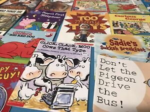 Story-Time-Assorted-Bundle-Lot-of-20-Story-Books-for-Kids-Toddlers-Daycare-MIX