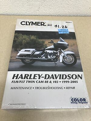 1999-2005 Harley-Davidson FLH FLT Twin Cam 88 Motorcycle Repair Manual Clymer...