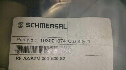 SCHMERSAL PART# 103001074  RF-AZ//AZM 200-B30-SZ RFAZAZM200B30SZ New Lockout