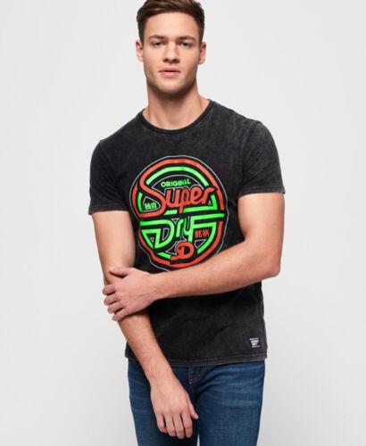 Superdry Mens Acid Graphics T-Shirt