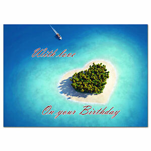 Image Is Loading C195 Large Personalised Birthday Card Custom Made For