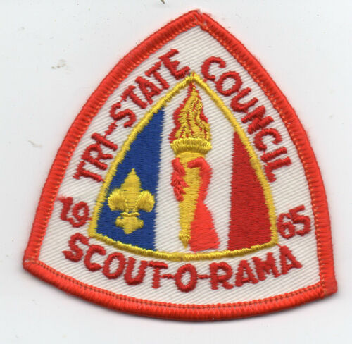 1965 Boy Scout Patch Scout O Rama Tri State Council