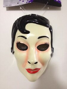 image is loading the strangers emo girl face mask movie replica