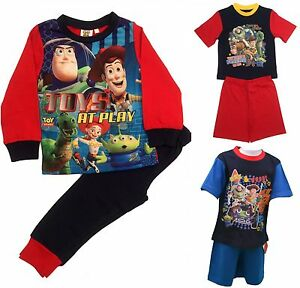 f5d7008b7 Kids Boys Disney Toy Story Buzz   Woody Pyjamas Pjs Sleepwear Sizes ...