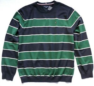 Tommy-Hilfiger-Men-039-s-Striped-Pullover-Sweater