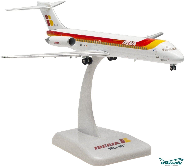 Hogan Wings MD-87 Iberia  Ciudad de Zaragoza  Scale 1 200 (die cast) LI5682