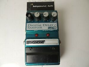 DOD DFX94 Digital Delay/Sampler Effects Pedal Free USA Shipping