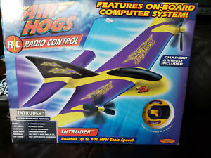 Air Hogs Radio Control Intruder Airplane Toy On-Board Computer System