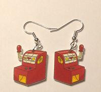 Slot Machine Earrings Gambling Games Casino Charms
