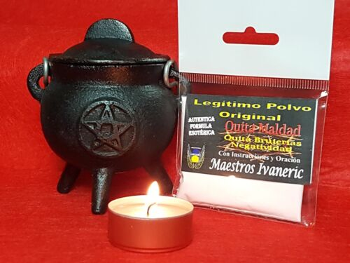 "POWDER TAKE AWAY EVIL 20g RITUAL /""QUITA MALDAD/"" Legitimo Polvo Original 20g"