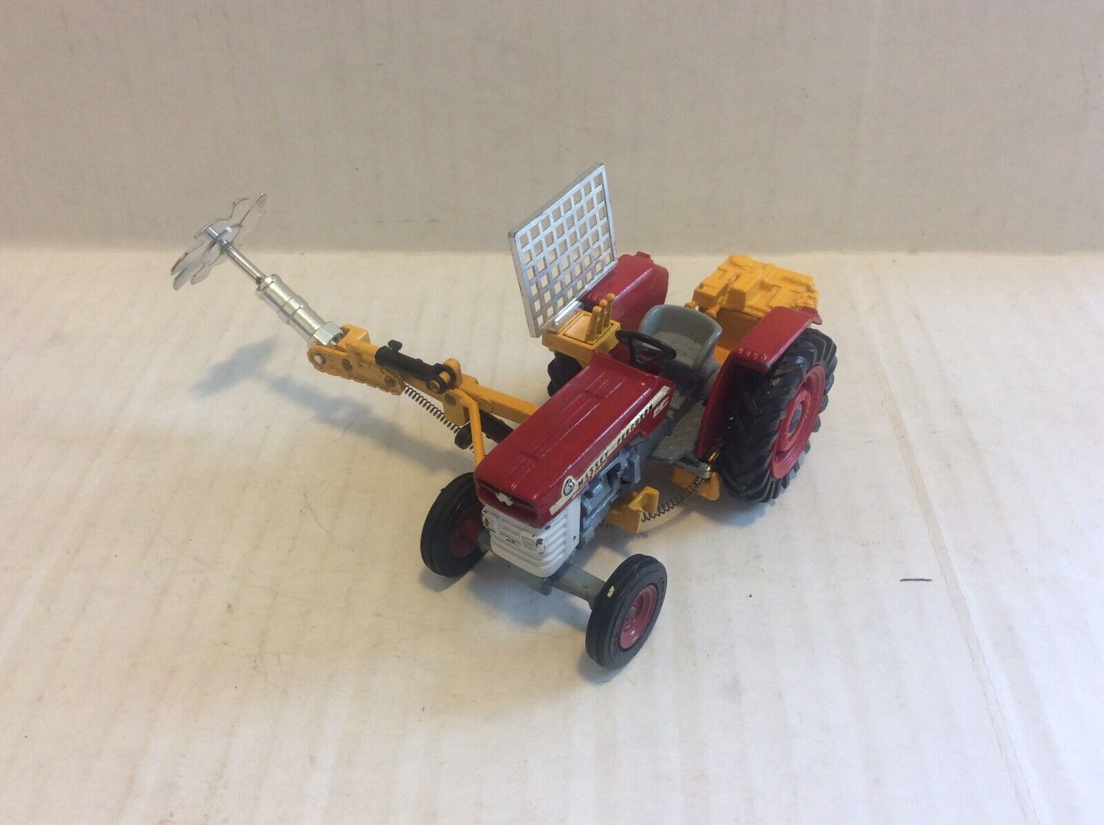 Corgi Toys   73 Massey Ferguson 165 Tractor with Saw Attachment no box Rare