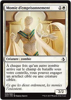 x4 MTG Magic HOU - French//VF Disposal Mummy//Momie du rebut