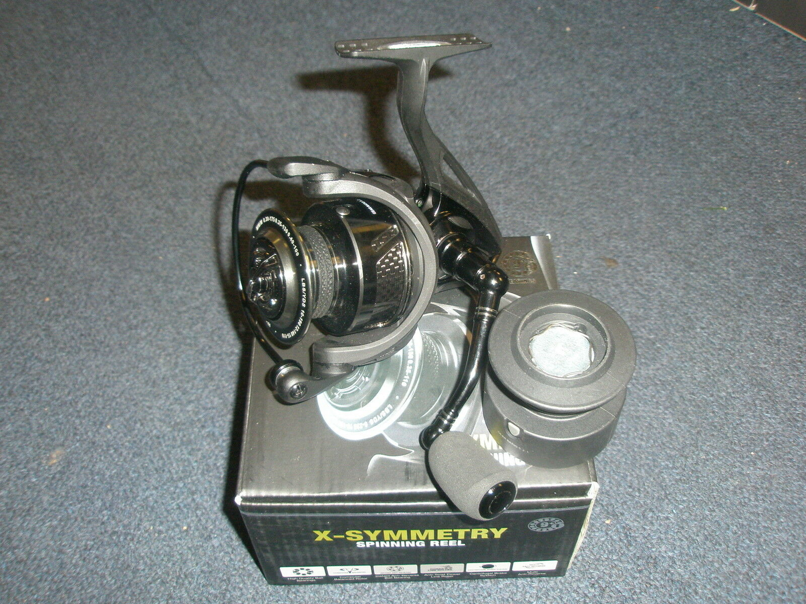 Ron Thompson X-Symmetry Front Drag Fishing Reel + Spare Spool ALL SIZES
