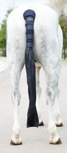 Shires-Arma-Padded-Horse-Tail-Guard-With-Bag-in-Navy-one-size