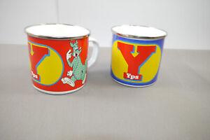 Yps-2-X-Email-Coupes-Tasse-a-Cafe-1-X-Yps-Logo-1x-Kangourou-Neuf-KB3