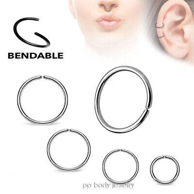Confezione da 32 piercing per labbra Labret anello Labret Naso 18G Trago