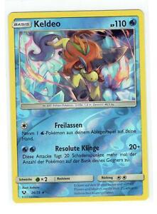 Pokemon-Keldeo-S-amp-M-Schimmernde-Legenden-26-73-Reverse-Holo-Rare-Deutsch