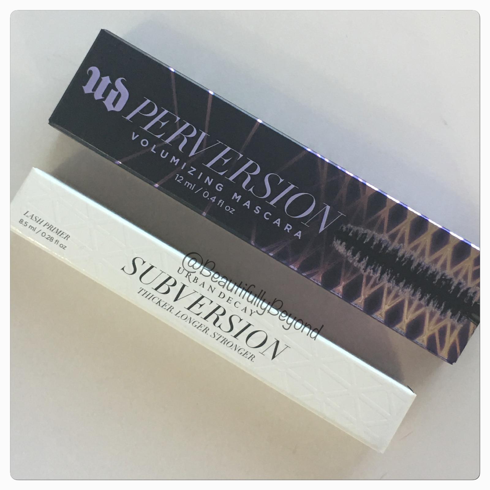 de390ea2d2b Urban Decay Perversion Black Mascara - 12ml for sale online | eBay