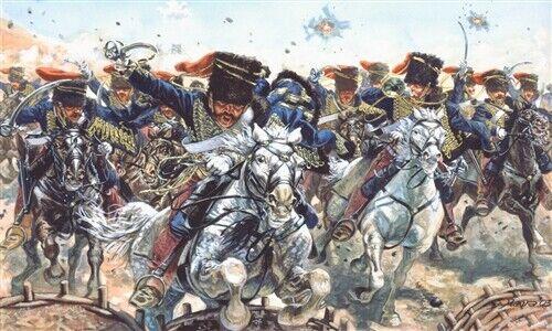 Neu Krimkrieg Italeri 6052-1//72 Britische Hussaren