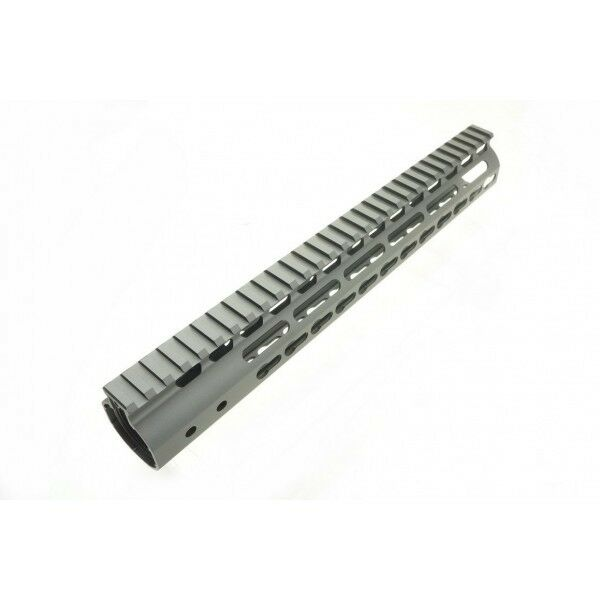 12  CNC Aluminum Key Mod Rail Handguard for Marui G&P SR, M Series Airsoft AEG