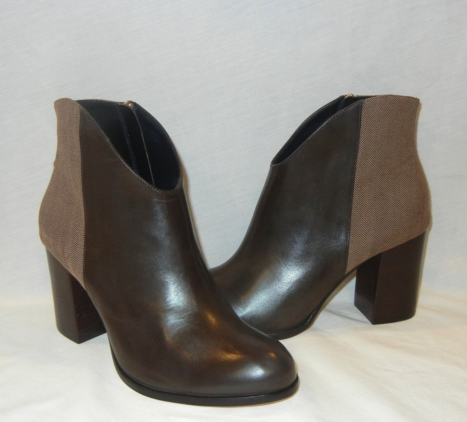 Guilhermina Women's Tweed-Backed Booties Ankle Boots Retail 288 size 7