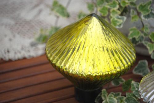 Großer 15 cm  Schwimmkegel Kugel Grün Silber Deko Garten Schwimmlinse Landhaus
