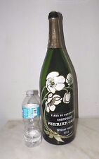 "EXTRA LARGE PERRIER JOUET FRANCE CHAMPAGNE DISPLAY BOTTLE 19"" TALL EMPTY"