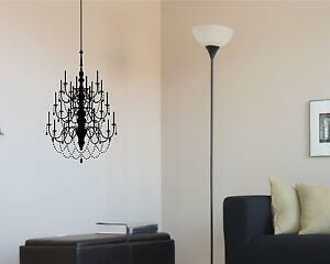 Chandelier Wall Decal Large Removable Sticker Decor Mural Art