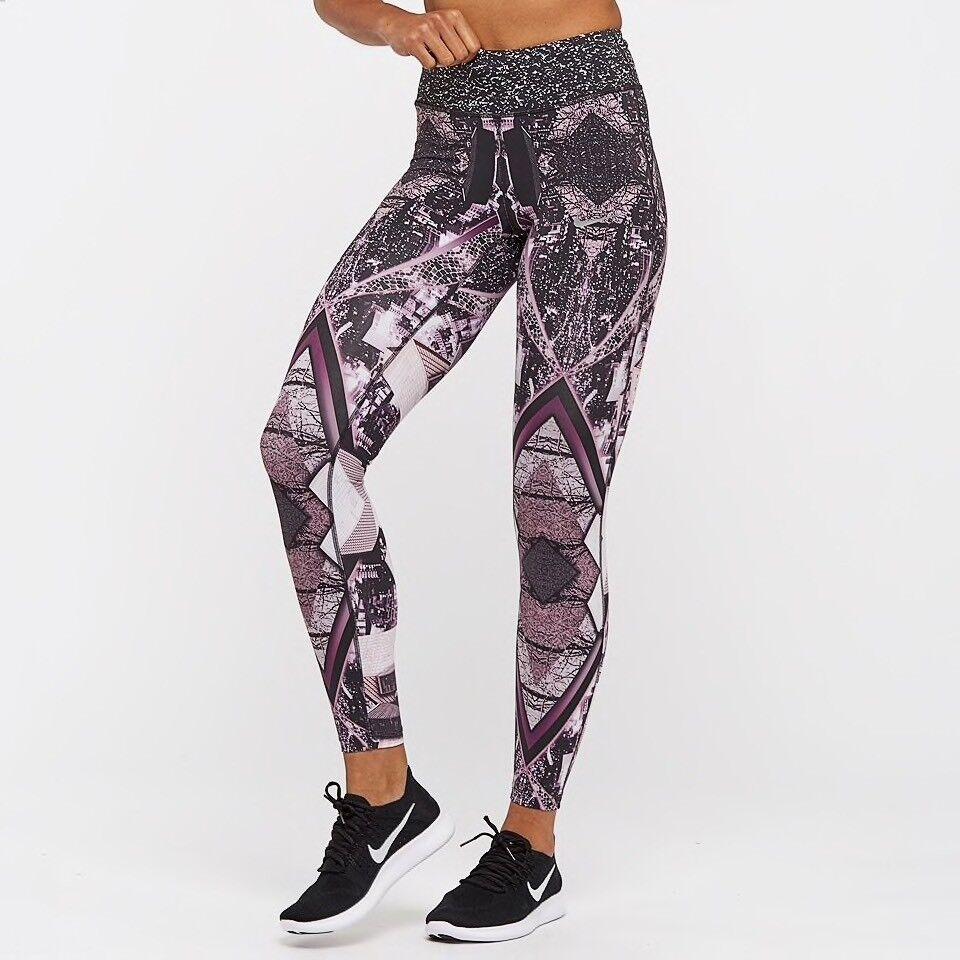 Nike donna POWER Epic LUX 7 8 in esecuzione collant-MEDIUM-NUOVO  874745 658