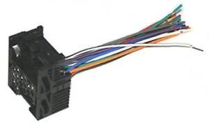 factory stock car radio stereo install wire harness plug fits bmw 3 5 7 8  series | ebay  ebay