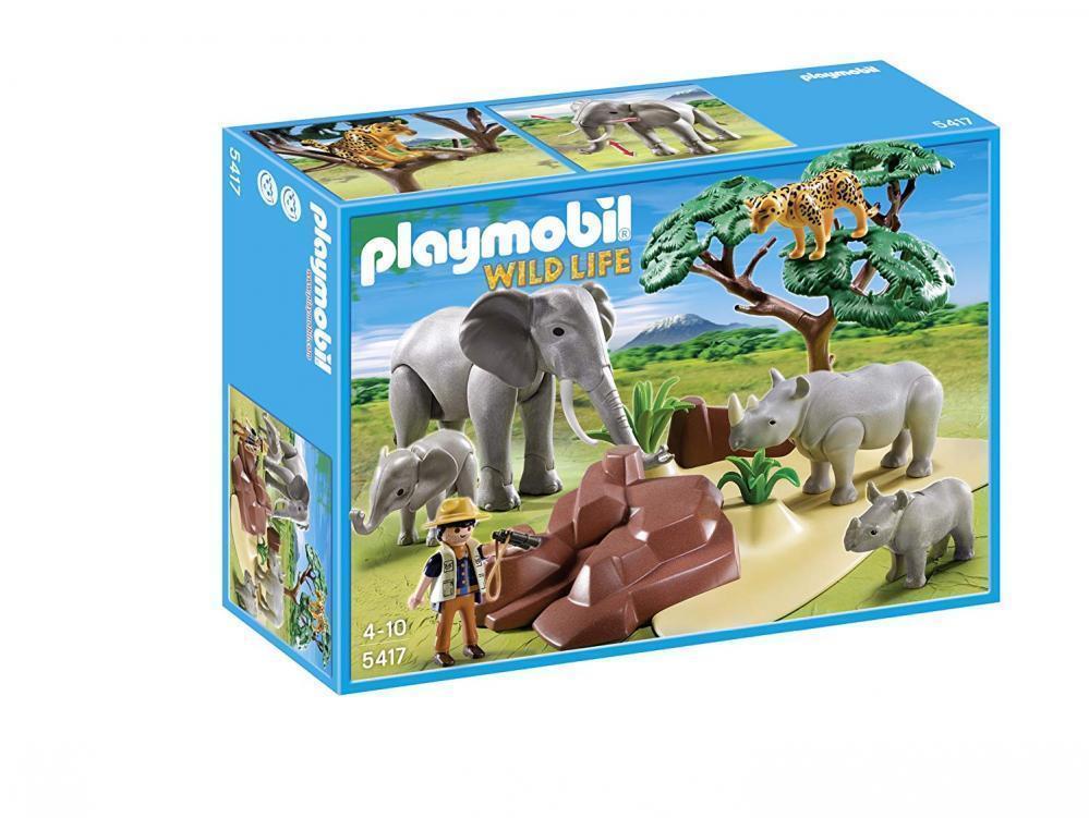 PLAYMOBIL Wild life 5417-Africa Savana con animali  NUOVO OVP  controlla il più economico