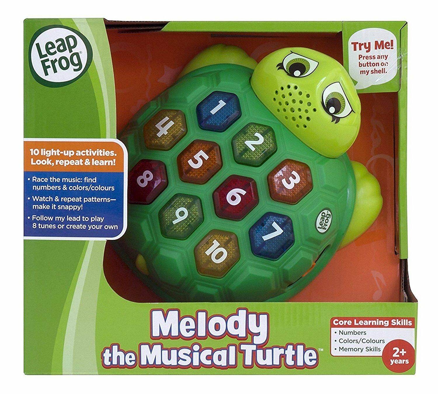 A LeapFrog Melody The Musical Turtle