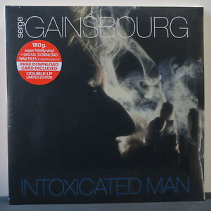 SERGE-GAINSBOURG-039-Intoxicated-Man-039-Ltd-Edition-180g-Vinyl-2LP-Download-NEW
