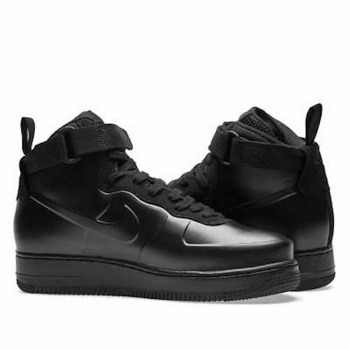 100% authentique 556f9 7e33d Nike Air Force 1 Foamposite Cup Triple Black Size Men's 7 Ah6771-001