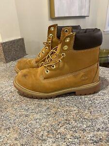 Timberland Boots Wheat Boys Size 5 | eBay