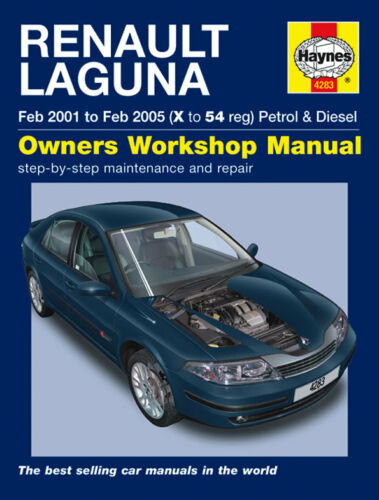 1 of 1 - Haynes Workshop Repair Manual RENAULT LAGUNA 01 - 05