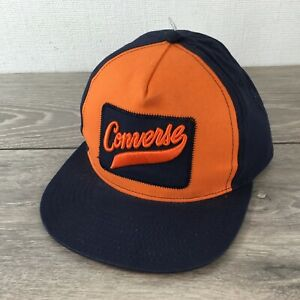Details about Converse All Star Junior Kids Cap Adjustable SnapBack 6 12 Yrs Mint R533 19