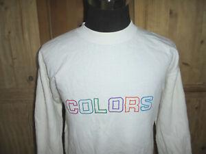 vintage-united-colors-of-benetton-sweatshirt-pullover-jumper-oldschool-sweater-M