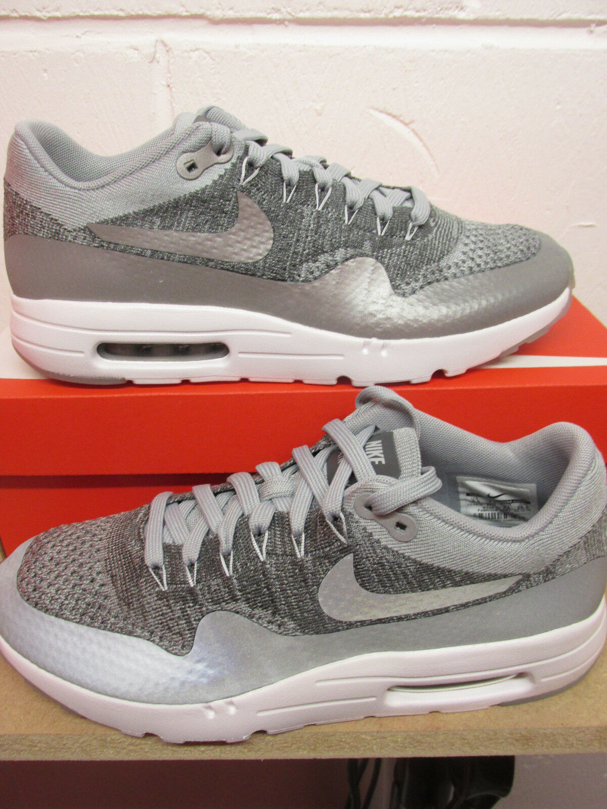 Nike Air Max 1 Ultra Flyknit Chaussure de Course pour Homme 843384 001 Baskets