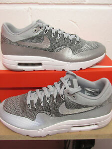 reputable site 60f97 763d0 Image is loading Nike-Air-Max-1-Ultra-Flyknit-Mens-Running-
