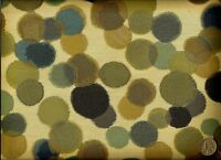 Momentum Lina Amalfi Abstract Contemporary Bubbles Circles Upholstery Fabric