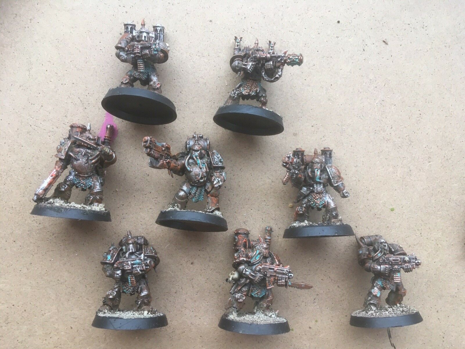 NEW 8 Painted Death Guard Nurgle Chaos Space Marines Forgeworld